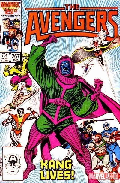 Avengers #267 cover by John Buscema