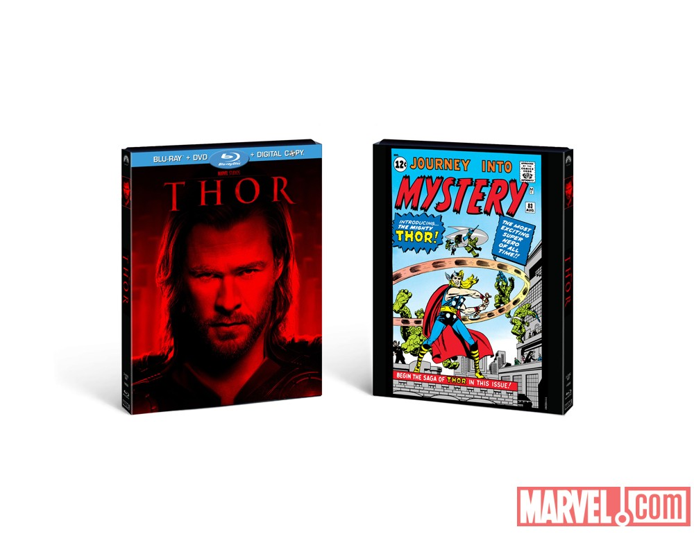 Best Buy-exclusive Thor Blu-ray/DVD Combo Pack artwork