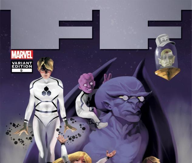 FF, 50th Anniversary Variant (2010) #9