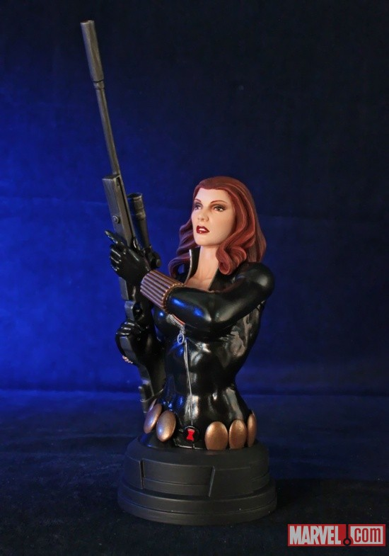 Black Widow mini bust by Gentle Giant Ltd