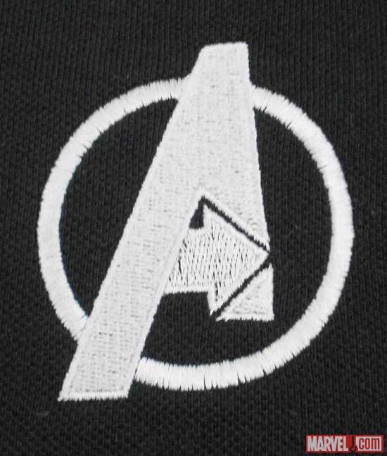 Avengers Logo close-up from WeLoveFine