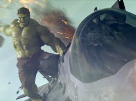 Hulk (Mark Ruffalo) in Marvel's The Avengers