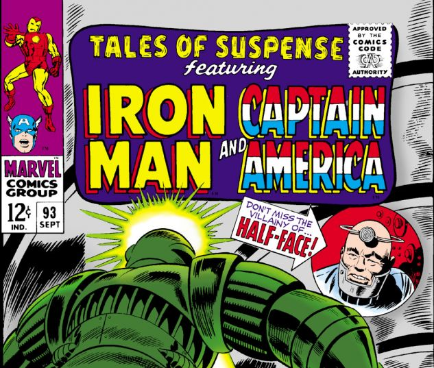 Tales of Suspense (1959) #93 Cover