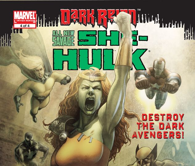 ALL-NEW SAVAGE SHE-HULK (2009) #4 Cover