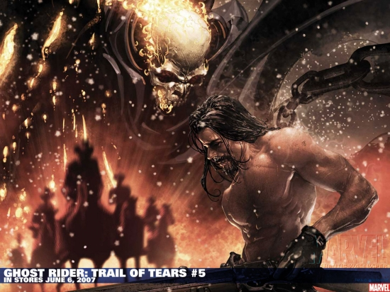 Ghost Rider: Trail of Tears (2007) #5 Wallpaper