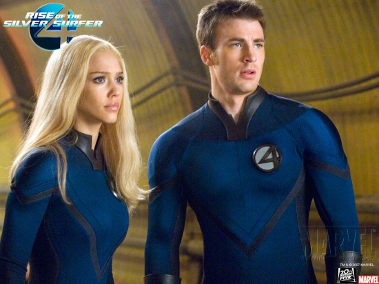 Fantastic Four: Rise of the Silver Surfer: Sue and Johnny