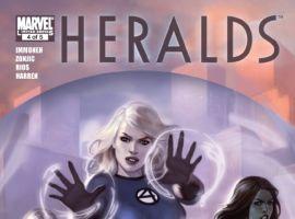 Heralds #4 cover by Jelena Kevic-Djurdjevic