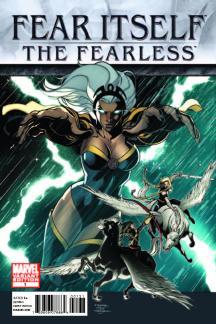 Fear Itself: The Fearless (2011) #1 (Tbd Artist Variant a)