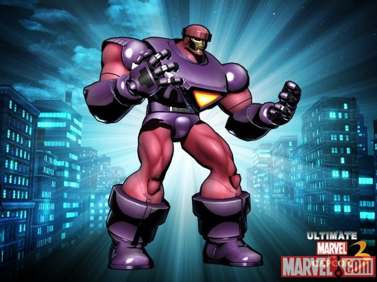 Alternate Sentinel skin from the New Age of Heroes DLC pack for Ultimate Marvel vs. Capcom 3