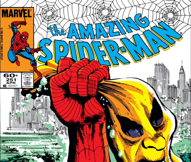 Amazing Spider-Man (1963) #251 Cover
