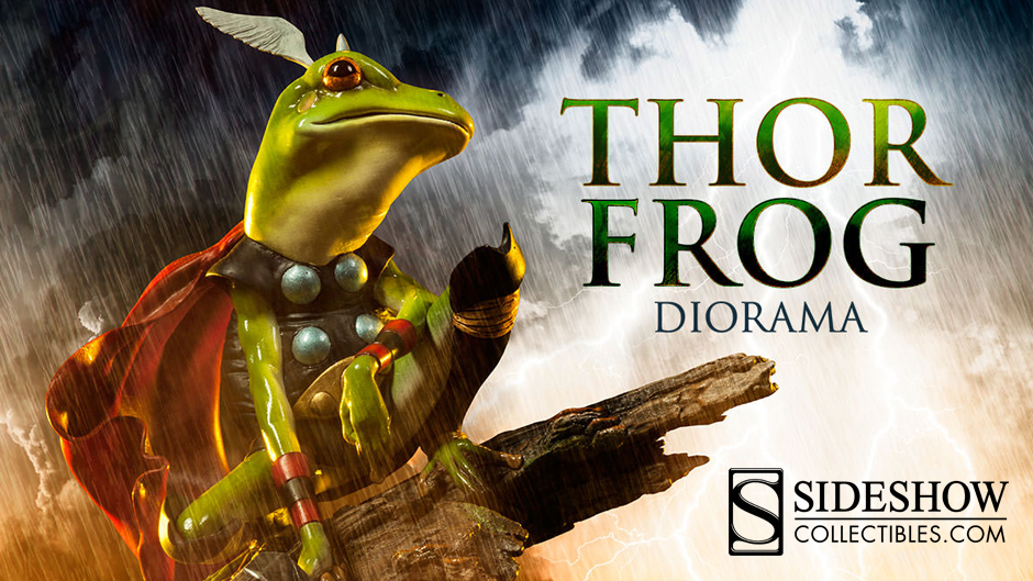 Thor Frog Diorama from Sideshow Collectibles