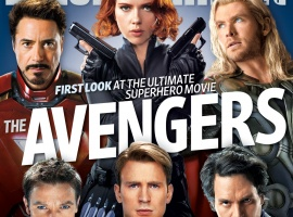 Marvel's The Avengers on the cover of Entertainment Weekly