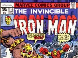 Iron Man #114 cover