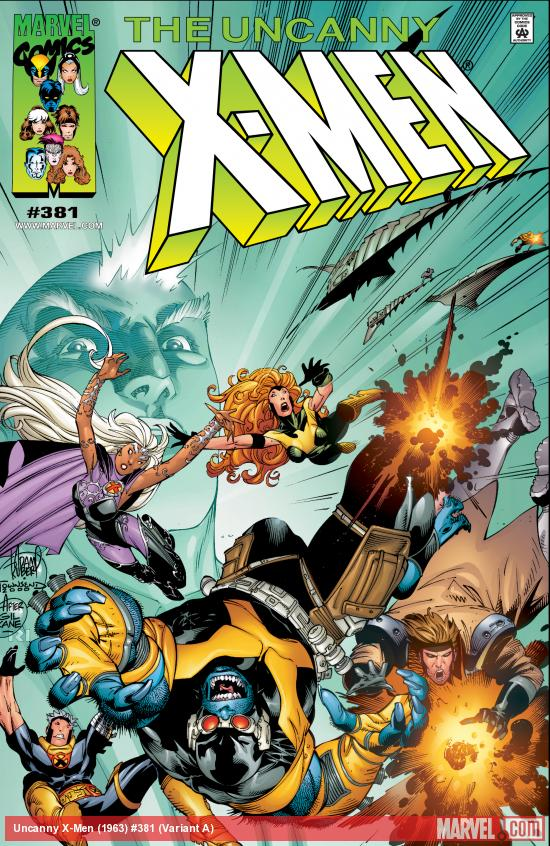 Uncanny X-Men (1963) #381 Variant A Cover
