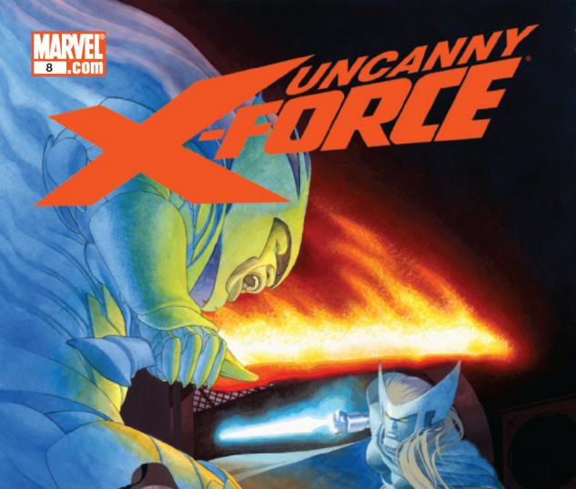 Uncanny X-Force #8 cover by Esad Ribic