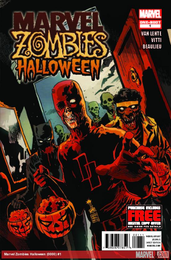 MARVEL ZOMBIES HALLOWEEN 1 (WITH DIGITAL CODE)