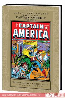 Marvel Masterworks: Golden Age Captain America Vol. 2 (Hardcover)