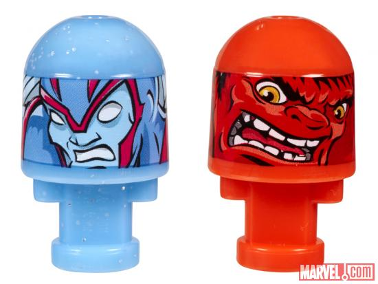 Archangel and Red Hulk Marvel Bonkazonks