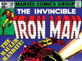Iron Man (1968) #156 Cover