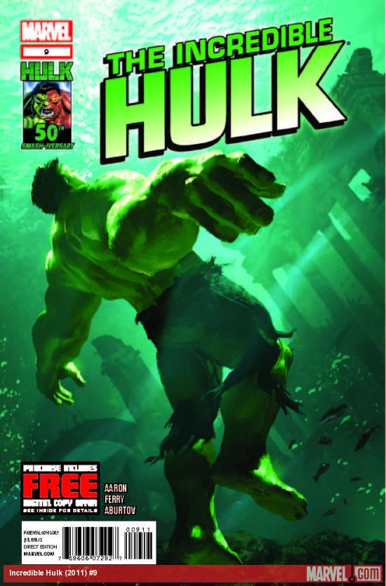 INCREDIBLE HULK 9 (WITH DIGITAL CODE)