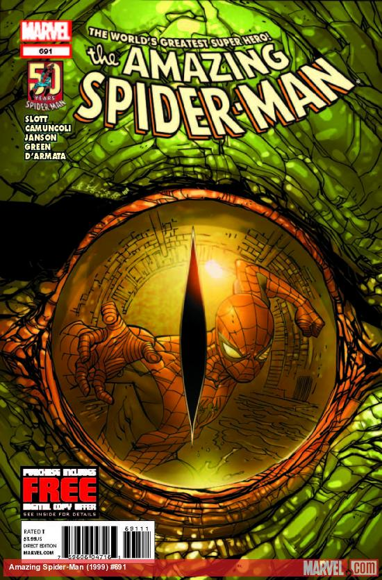 AMAZING SPIDER-MAN 691 (WITH DIGITAL CODE)