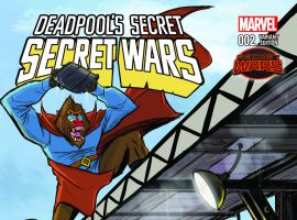 DEADPOOL'S SECRET SECRET WARS 2 RUBIO VARIANT (SW, WITH DIGITAL CODE)