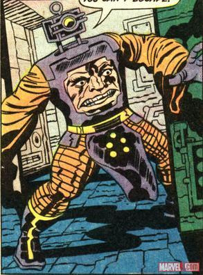 Arnim Zola by Jack Kirby