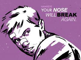 Debrief the Secret Avengers: Hawkeye