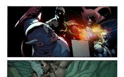 Avengers #29 preview art by Leinil Yu