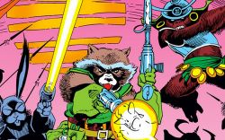 Back to Work With Rocket Raccoon