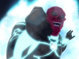 The Red Skull gets cosmic with the Tesseract in Marvel's Avengers Assemble - The Final Showdown