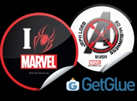 Brand-New NYCC 2011 GetGlue Digital Stickers