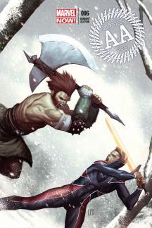 Avengers Arena #6  (Molina Variant)