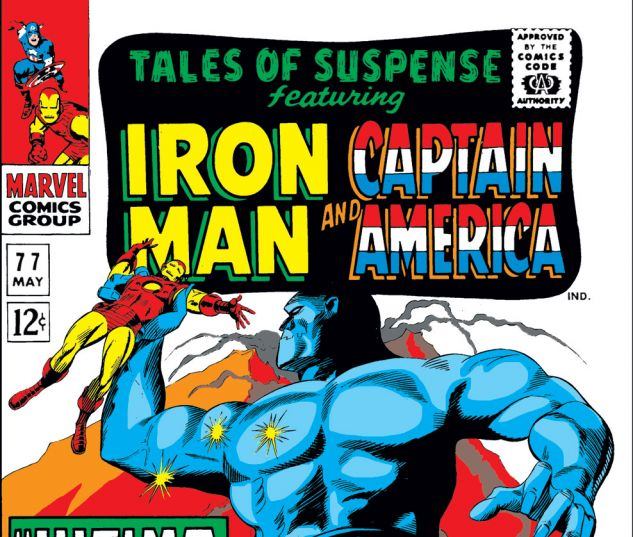 Tales of Suspense (1959) #77 Cover
