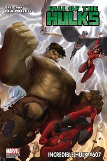 Incredible Hulks #607  (MCGUINNESS VARIANT)
