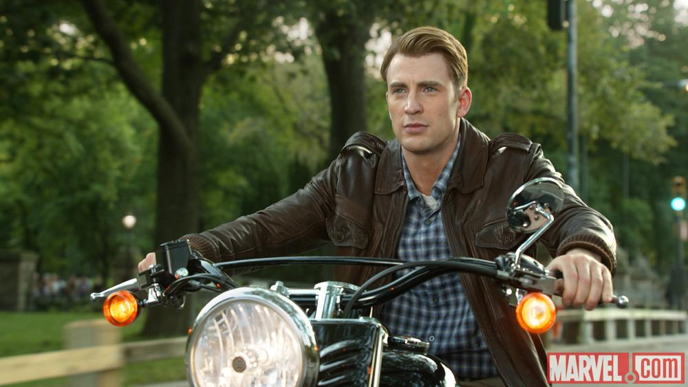 Captain America (Chris Evans) in Marvel's The Avengers