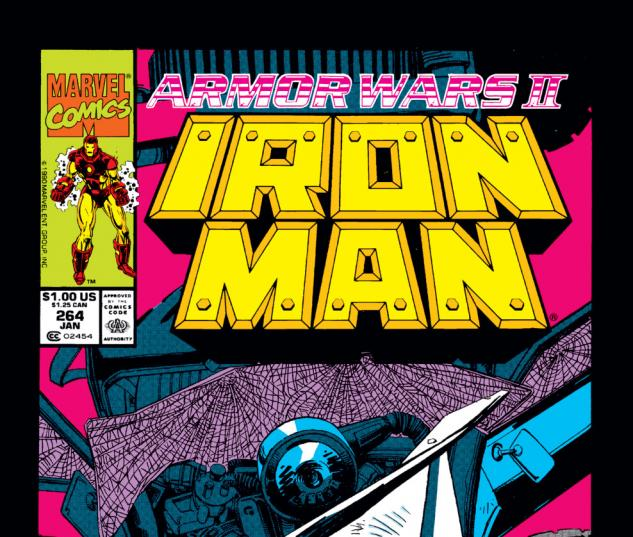 Iron Man (1968) #264 Cover