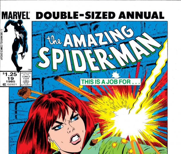 Amazing Spider-Man Annual (1964) #19 Cover