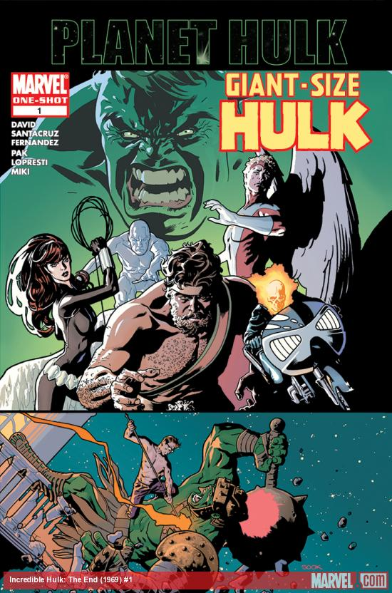 Incredible Hulk: The End (1969) #1