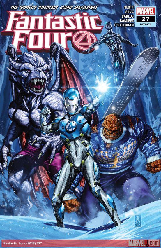 Fantastic Four (2018) #27