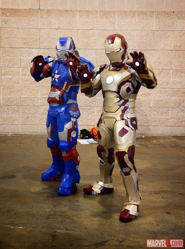 Iron Patriot Comic Iron Patriot Cosplayers