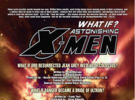 WHAT IF? ASTONISHING X-MEN