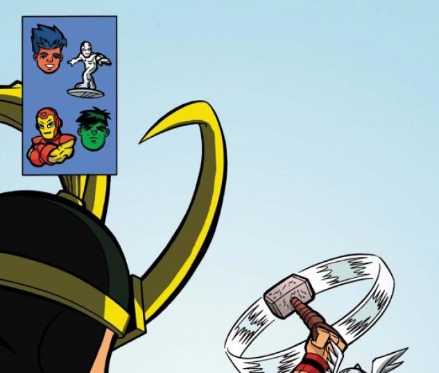 Marvel Super Hero Squad #4 cover