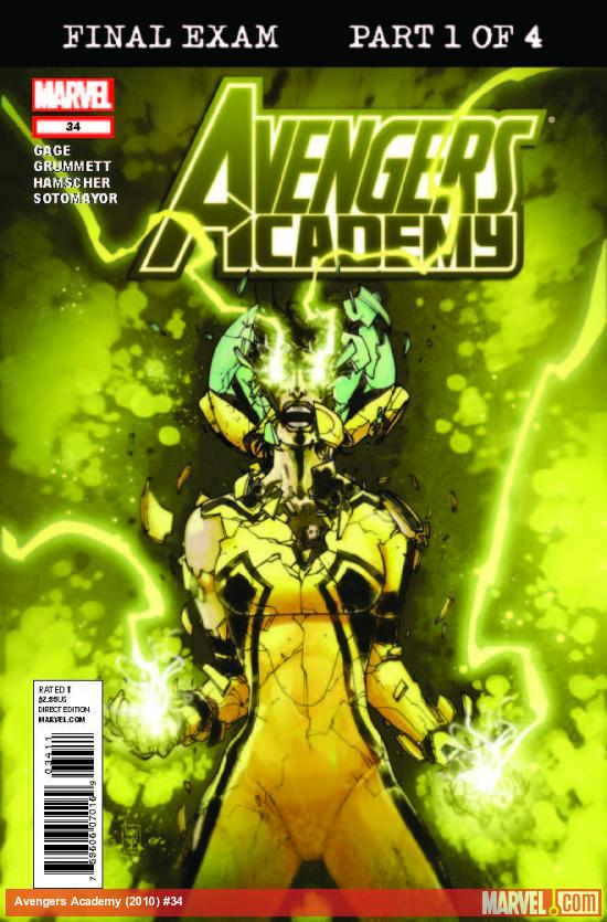 AVENGERS ACADEMY 34