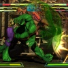 Screenshot of Hulk vs. Phoenix in Shadow Mode in Marvel vs. Capcom 3