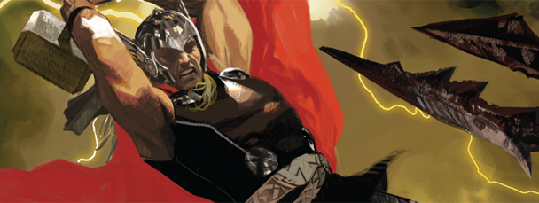 First Look: Thor: God of Thunder #1