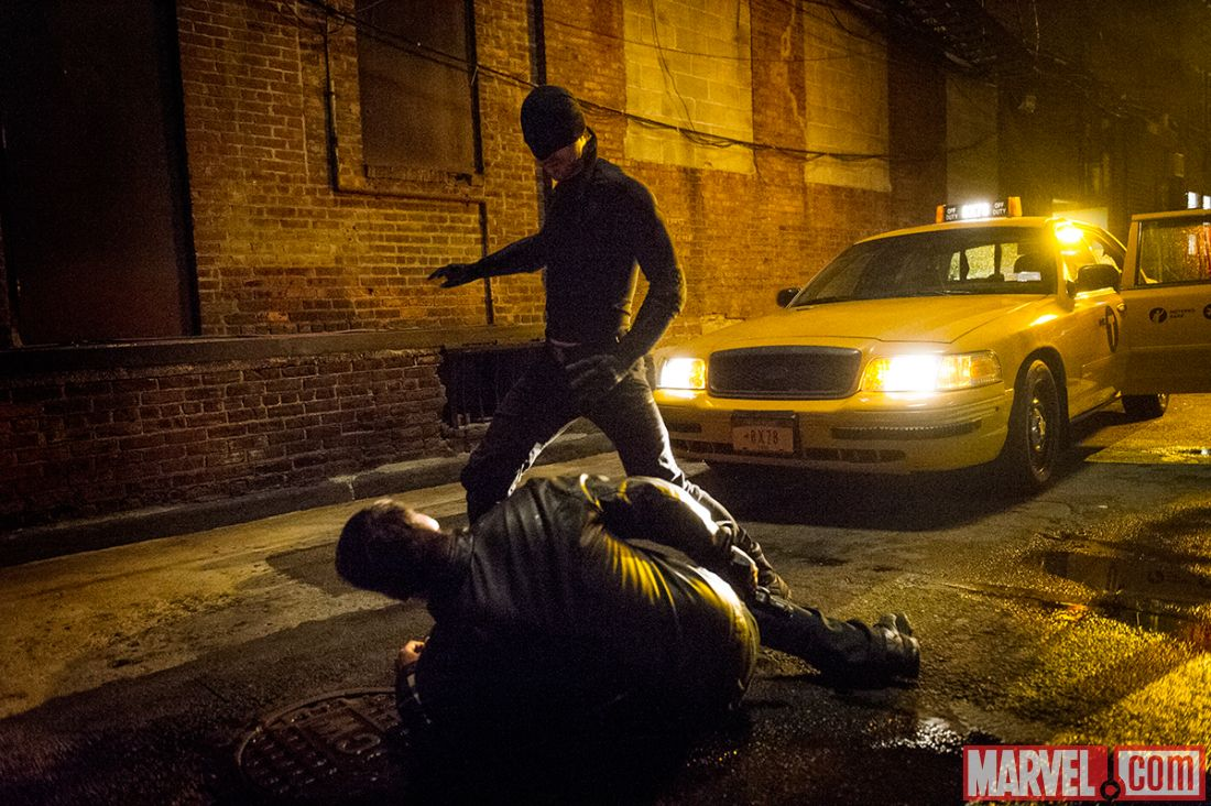 Charlie Cox hits the streets as the Man Without Fear in Marvel's Daredevil for Netflix (Marvel)