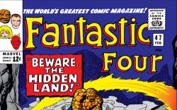 Fantastic Four (1961) #47 Cover