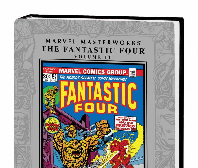MARVEL MASTERWORKS: THE FANTASTIC FOUR VOL. 14 HC