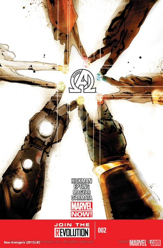 New Avengers (2013) #2 Cover